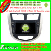 Android 4.2 Car GPS Navigation para Hyundai Verna 2010-2012/Accent/Solaris/I20 3G WiFi Radio