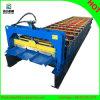 Stahlfarbe gewellte Dach-Blatt-Rolle, die Maschine bildet