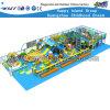 Jouets vilains de jeu de château de glissière en plastique d'intérieur d'enfants (HD-0140)