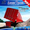 3 essieux transport de sable benne hydraulique de remorque basculante chariot latéral