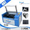 cortadora del laser del CO2 del CNC de la mesa portable 50W mini Tr5030