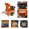 Maquinaria móvel de bloqueio contínua do tijolo do motor Diesel da máquina do tijolo Hr1-20