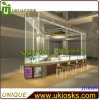 Luxurious fascinante Jewelry Kiosk EXW Jewelry Shop Interior Design 3D max Designed Jewelry Kiosk para Sale