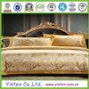 100% algodón bordado elegante hermoso conjunto de ropa de cama