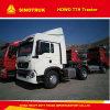 HOWO T5g 12 속도 설명서 6 짐수레꾼 트랙터 트럭