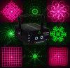 Laser Light de Red&Green 16 Graphics Fireworks para Disco/KTV/Pub/Christmas/Holiday