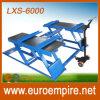 Levage de véhicule de ciseaux de matériel de réparation automatique de la CE Lxs-6000
