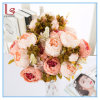Boda al por mayor Home artificiales decorativas flores Peony