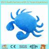 Crabe de jouet de peluche, animal bourré de crabe