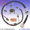 C7 el cableado del inyector de combustible de malla especial Deutsch 12 patillas