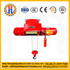 Type à chaînes élévateur à chaînes électrique de monorail avec le bloc d'alimentation de câble pour l'élévateur de construction