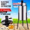 Nagelneue große zwei 2 Rahmen-Edelstahl-elektrische Honig-Zange
