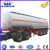 3 remorque de camion-citerne d'essence d'acier du carbone des essieux 49.5m3