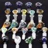 Tazones de fuente coloreados hembra-varón de cristal embriagadores de los tazones de fuente de tubo