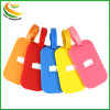 Etiqueta de equipaje personalizadas Logo 3D de la etiqueta de PVC blando con Strape