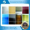 Feuille de couleur d'acier inoxydable d'ASTM 201 pour le matériau de décoration