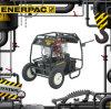 Enerpac Zg6 a gasolina nas bombas hidráulicas Zg6440MX-Bcfh