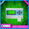 Panel de control de las aplicaciones eléctricas con el botón capacitivo del tacto