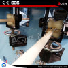 Belüftung-runzelte gewölbter Rohr-Extruder/Rohr-Extruder-Maschine