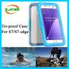 Cas plongeant imperméable à l'eau de Threeproof pour le bord de Samsung S7