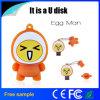 Disco de destello del USB del PVC del huevo de la historieta del precio de Facyory