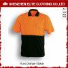 Het oranje Blauwe Overhemd van het Polo Workwear van de Veiligheid Weerspiegelende (eltspsi-4)