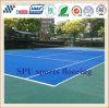 Het goedkope Comfortabele en Hoogstaande Openlucht Vloeren van de Sporten van het Hof van het Badminton Spu