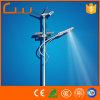 120W starkes 8m Straßenlaternedes Solarwind-LED