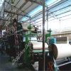 Máquina para hacer papel de bobina textil reciclando papel usado