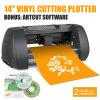 14  (375mm) de Vinyl Scherpe Machine van de Desktop van de Plotter