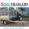 De LandbouwAanhangwagen van de Doos van de Aanhangwagen van de tractor