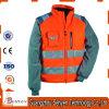 安全冬の高い可視性のカスタムロゴの防水ボマージャケット