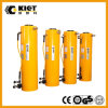 Double cylindre hydraulique à longue course temporaire pour l'exécution de levage horizontale