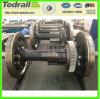 Train Wheelset forgé; 22.5taxle jeu de roue de charge; forgé pour l'essieu /des wagons de marchandises Wagon