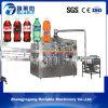 Monoblock carbonató la máquina que capsulaba de relleno de la bebida efervescente para la venta
