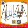 Vergnügungspark-Schwingen-Spielplatz für Kind-Spiel