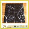 Black chinois Neor Maqurina Marble Tile pour Flooring/Wall Decoration