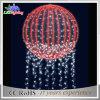 LEIDENE van de Gebieden van Kerstmis Licht van de Lichte Bal van Kerstmis 3D