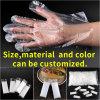 Top Fashion Pack individuel PE peu coûteux à usage unique des gants jetables