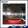 Globo de Nieve inflables de PVC transparente para la decoración de vacaciones