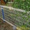 Cerca dobro da jarda da cerca de fio do laço
