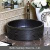 Schwarze keramische Wäsche-Handwanne (C1048)