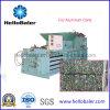 Mise en balles Hellobaler horizontale de la machine pour les canettes en aluminium HM-2