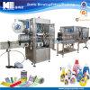 Machine à étiquettes de bouteille de rétrécissement d'étiquette de douille