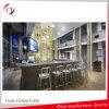 銀製カラー現代大広間部屋の高い椅子(NC-24)
