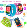 GPS van de Jonge geitjes van het Scherm van de Aanraking van de manier het Kleurrijke Horloge van de Drijver met Flitslicht D26c