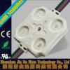 Cuatro LED impermeabilizan el módulo del LED