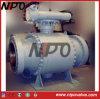 Válvula de bola de acero de muñón montado Baja Temperatura