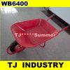 赤いカラーWb6400一輪車