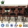 Industriële Barkrukken met Back in Bar Furniture